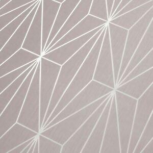 Kayla-Metallique-Papier-Peint-Geometrique-Fard-Argent-Muriva-703012