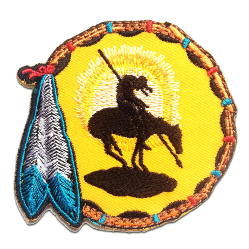 7.7x7.3 Application Embroided badges yellow Iron on patches Dreamcatcher