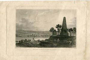 Neuweid-amp-mount-General-Hoche-Engraved-1835-By-W-Tombleson-Over-Artwork-Of-J