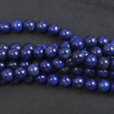 30PCS Natural Lapis Lazuli Gemstone Round Spacer Loose Beads 6MM Jewelry Making