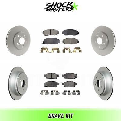 Front G-Coated Rotor /& Ceramic Brake Pads for 2005-2010 Honda Odyssey