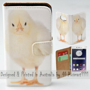 For OPPO Series - Cute Chick Portrait Theme Print Wallet Mobile Phone Case Cover