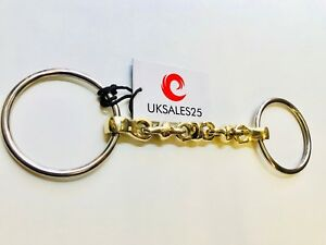 LOOSE-RING-WATERFORD-SNAFFLE-BIT-GS-amp-SS-UKSALES25-Horse-Bits