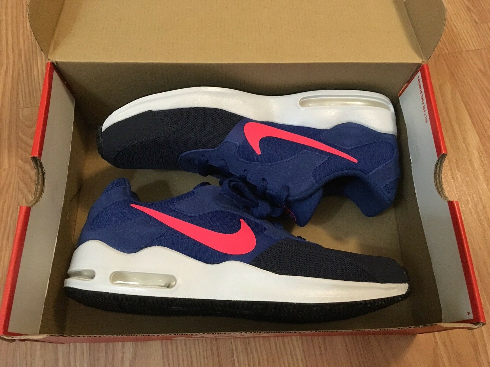 more photos c2fda 914f2 Nike Nike Nike Air Max Guile Men s Size 10 bluee Obsidian Solar Red 81b110