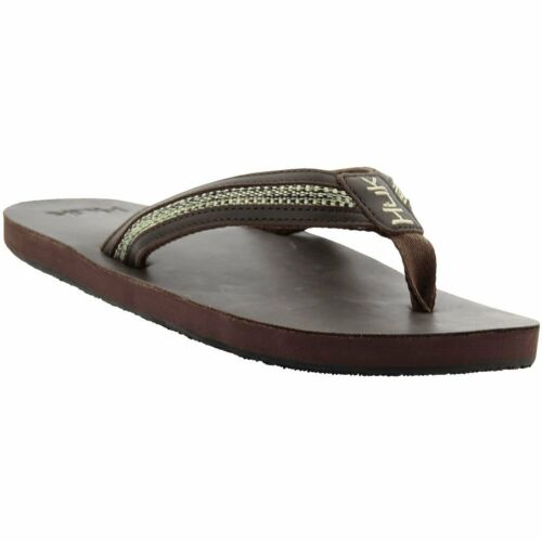 50/% Off HUK CARUSO Cushioned Flip Flop Fishing Sandal Brown-Pick Size-Free Ship