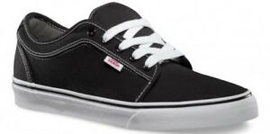 Image is loading Vans-Chukka-Low-Black-White-Classic-Skate-MEN- 2e221043ec