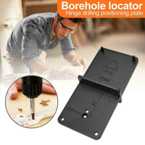 Woodworking Hinge Drill Hole Opener Locator Hole Punching Guide Drill Bit BEST
