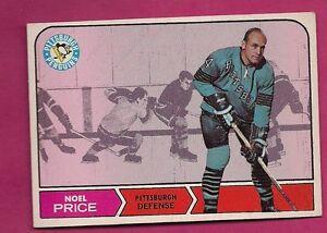 1968-69-TOPPS-110-PENGUINS-NOEL-PRICE-NRMT-CARD-INV-0493