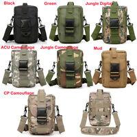 Outdoors Tactical Molle Camouflage Slr Cameras Shoulder Bag Hip Pack Backpack