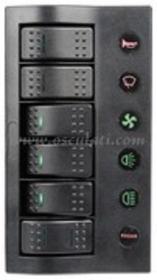Elektrische Schalttafel Serie PCP Compact Compact PCP mit Selbstausschalter und LED ae91be