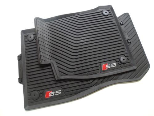 hinten Original Audi S5 Sportback Gummimatten Gummifußmatten vorne