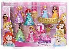 NEW Disney Princess Little Kingdom MagiClip 6-Pack Doll Figures Fashion