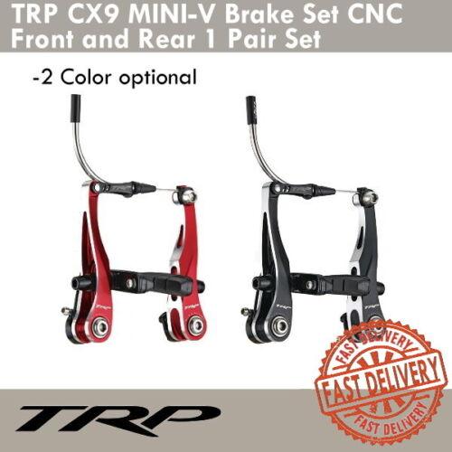 TRP CX9 Mini-V Brake CNC Front and Rear Cyclocross Bicycle Brakes 1 Pair Set
