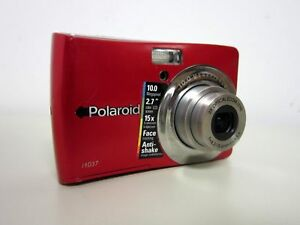polaroid i1037 10 0 mp digital camera red cia1037rc ebay rh ebay com Instruction Manual Example Owner's Manual