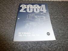 2004 Evinrude 100 115 135 150 175 HP DI 60 V4 V6 Shop Service Repair Manual SR