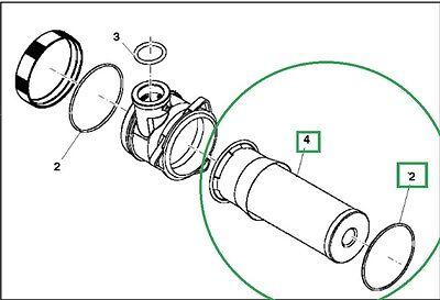 John Deere 3120 3203 3320 3520 3720 4105 Hydraulic Filter and O-Ring  LVA13065 | eBay