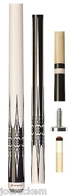 C802 Natural Maple /& Black NW FREE JOINT CAPS NEW Players C-802 Pool Cue