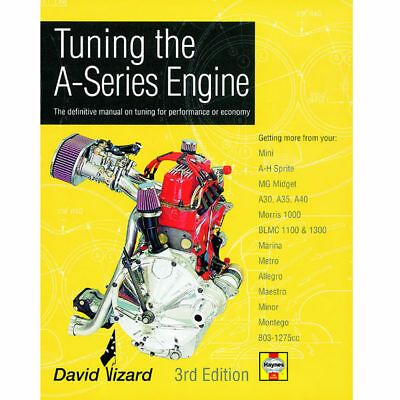 Tuning The A-Series Engine 3rd Edition Book by Haynes