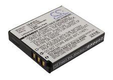 3.7V battery for Panasonic SDR-S9, Lumix DMC-FX38T, Lumix DMC-FX30EB-K Li-ion