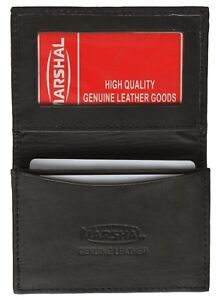 Black-Genuine-Leather-Expandable-Credit-Card-ID-Business-Card-Holder-Wallet-70