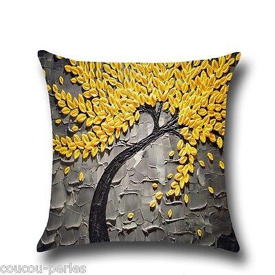 Cotton Linen Waist Throw Pillow Case Sofa Home Decorative Gift Cushion Cover