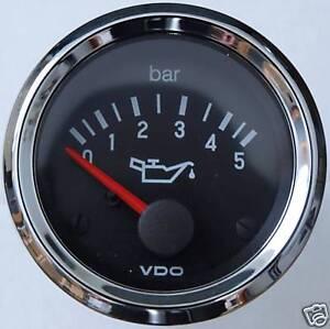 Öldruckanzeige bis 5 Bar