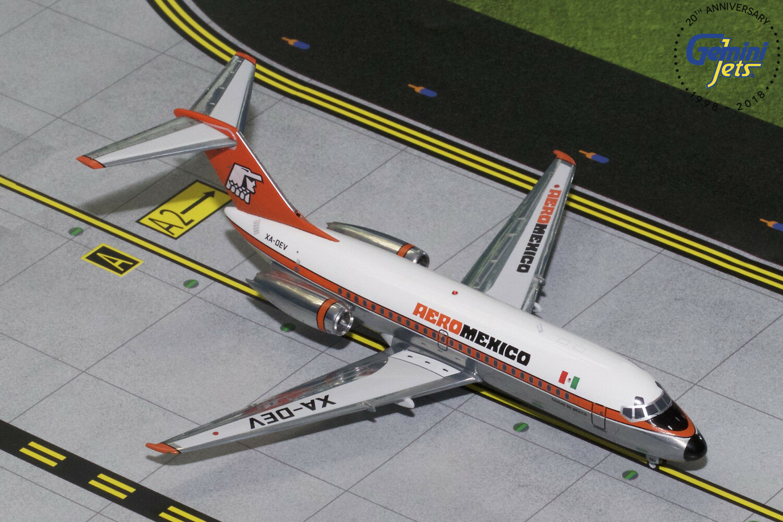 Die aeromexico dc-9-15 xa-dev gemini - jets g2amx315 skala  200