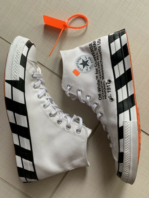 OFF WHITE x Converse Chuck Taylor All