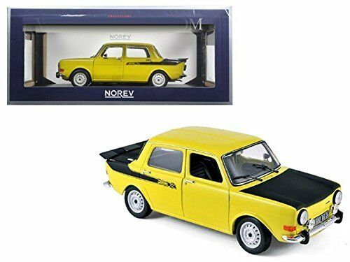 NOREV 1976 SIMCA 1000 RALLYE 2 1 18 DIECAST CAR MODEL 185708 YELLOW
