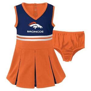625bfe50 NWT Denver Broncos NFL Infant/Toddler Girls 2-Piece Cheerleader Set ...