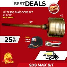Hilti Sds Max Core Bit 5 X 18 Lks New Made In Germany Fast Ship