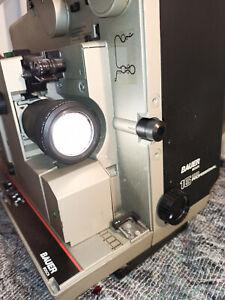 16mm Film Projektor,Bauer P8 Professionell +Film,xtra Lampe,Isco zooOOM Objektiv