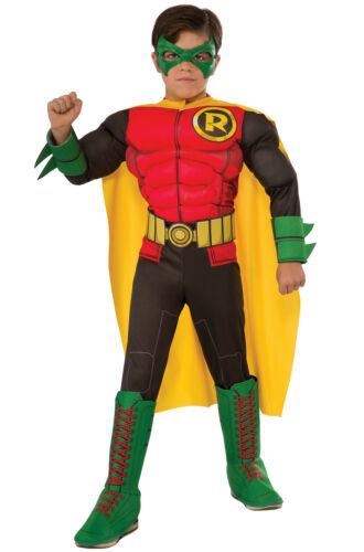 Deluxe Robin Superhero Gotham City Child Costume