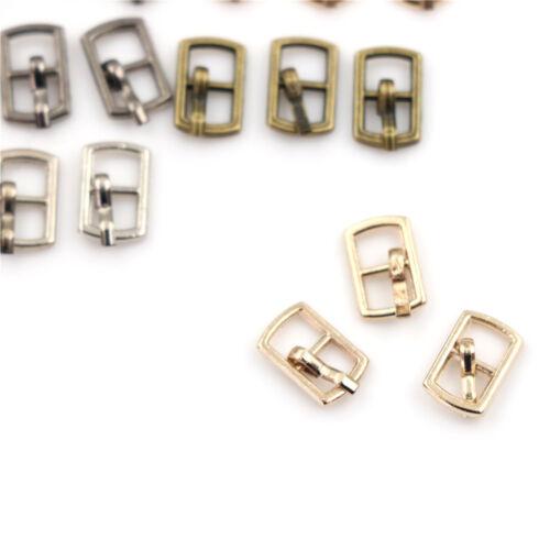 3X 4.5mm Diy buckle shoes accessories mini belt buckle for bjd blyth doll PLF