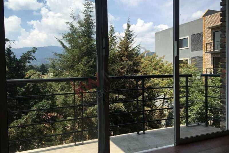 Renta departamento con Roof Garden PRIVADO en Contadero $19,500