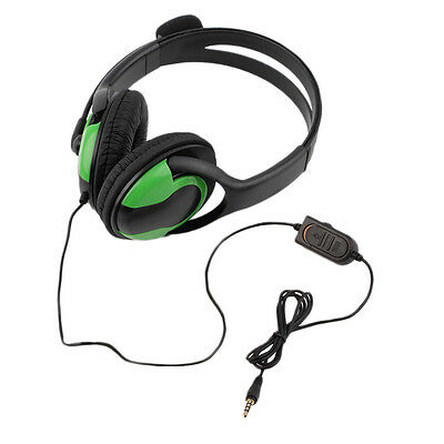 Wired Headset Headphone Earphone Steoro Microphone for PS4 Gaming PC Chat F7