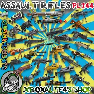 Assault-Rifles-PL144-Supercharged-Choose-From-List-Fortnite-STW-XBOX-PS4-PC
