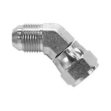 6502 10 10 Hydraulic Fitting 58 Female Jic 45 Swivel X 58 Male Jic C5356