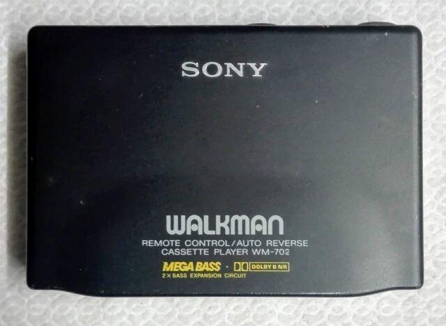Sony Walkman WM-702, Cassette Player, Auto Reverse, Kassettenspieler,selten, rar