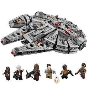 Star Wars Millennium Falcon Building Blocks Children Toys Kit Collection 1381Pcs
