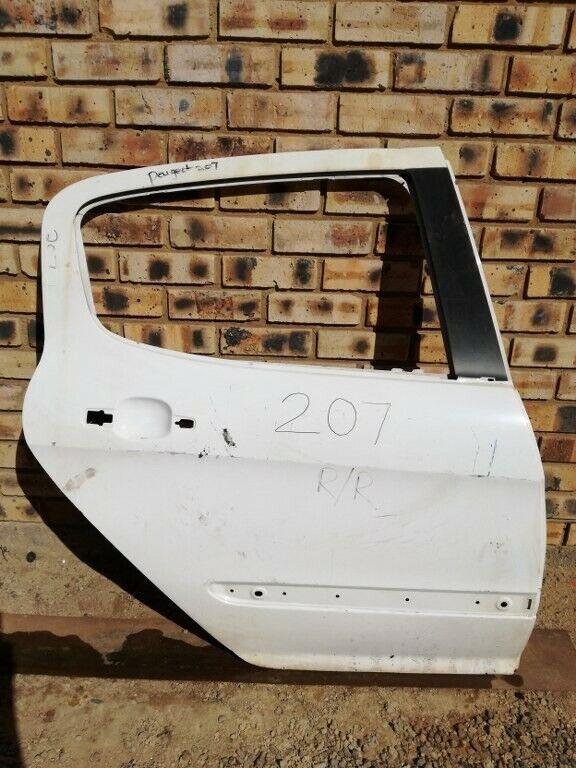 Peugeot 207 Right Rear Door