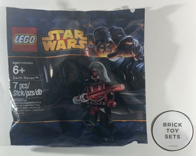 LEGO 5002123 STAR WARS DARTH REVAN POLYBAG - SITH - NEW - SEALED - FREE POSTAGE