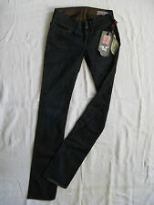 We Are Replay Damen Blue Jeans Stretch W26/L34 low waist slim fit straight leg