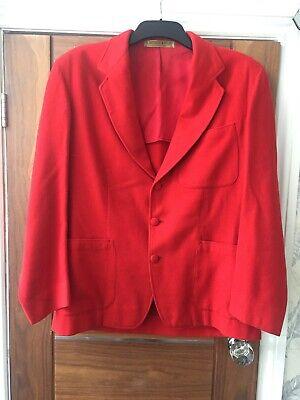 Affidabile R A Contrafforti & Co Ltd Cambridge Vintage Red Jacket 1957 Fatto A Mano Per J.a. Vincent-mostra Il Titolo Originale