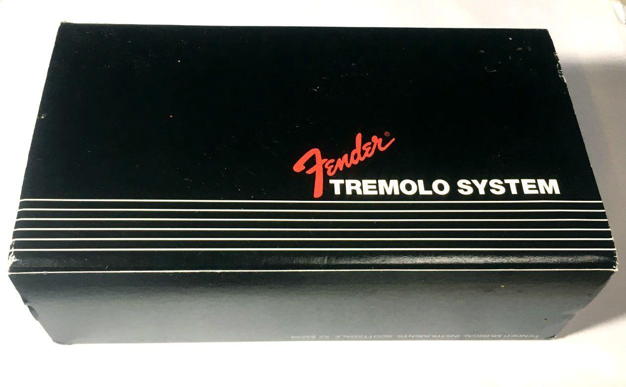 Genuine Fender AMERICAN STANDARD SERIES Stratocaster Tremolo Bridge Assembly