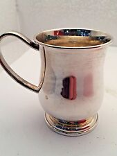 Sterling Silver Tankard style Baby Cup by Lunt Silversmiths USA (NEW)