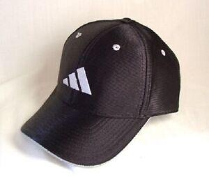 ADIDAS-Black-Polyester-Hat-Cap-Mens-Size-OSFA-NEW-NWT-993089