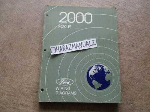 2000 Ford Focus Wiring Diagrams Manual OEM