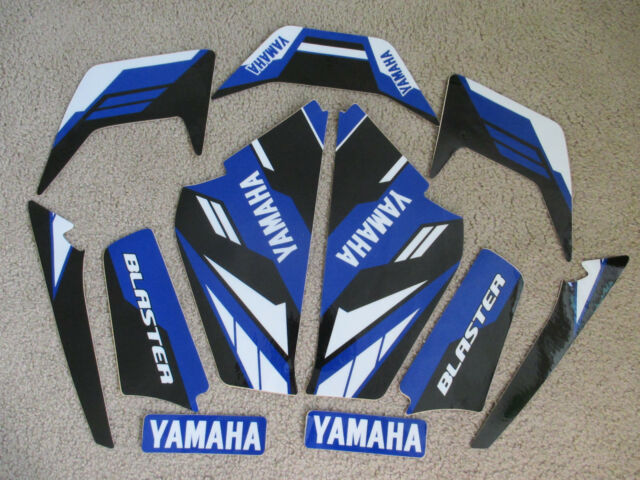 YAMAHA BLASTER BLUE/BLACK GRAPHICS 1987-2002
