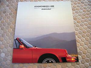 PORSCHE-911-SC-CABRIOLET-PRESTIGE-SHOWROOM-SALES-BROCHURE-USA-EDITION-1983